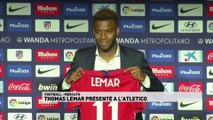 Thomas Lemar présenté par l'Atletico de Madrid