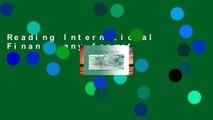 Reading International Finance any format