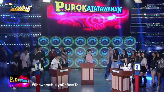 It's Showtime PUROKatatawanan: Mariel wins with her havey joke!