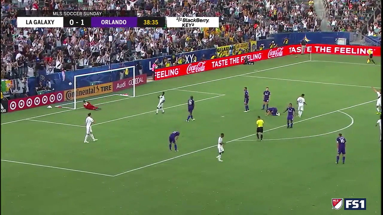 LA Galaxy vs Orlando City   All Goals & Highlights   MLS 2018