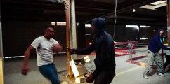Krav Maga Street Defense Paris - Situations de défense sur attaques avec armes-  ripostes et sorties
