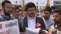 AK Parti Ankara İl Gençlik Kolları Yargıtay Cumhuriyet Başsavcılığı Önünde Toplandı