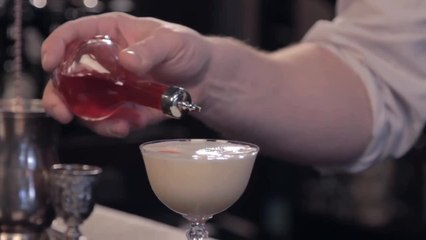 Chamomile Sour Cocktail - Raising the Bar with Jamie Boudreau - Small Screen
