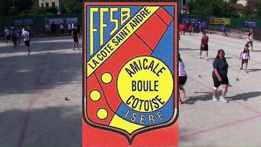Les finales, 115ème édition du Grand Prix Bouliste, la Côte Saint-André 2018