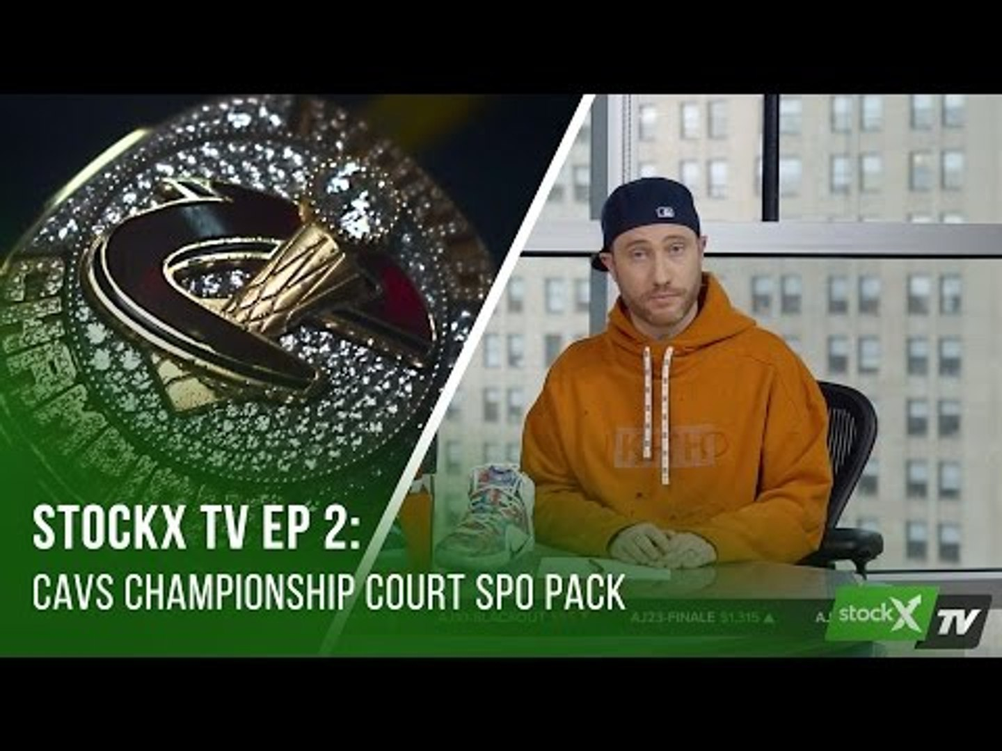 What Goes Into Making the Cavs Championship Court SPO Pack That Raised Almost $100K USD for Charity