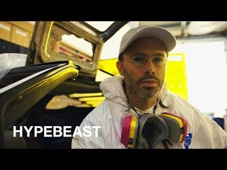 The Artist Taking Us to the Future with a Crystalized DeLorean | Hypebeast Diaries: Daniel Arsham