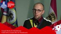 Interview du Grand-Duc de Flandrensis - 2e Sommet des micronations francophones, Vincennes 2018