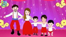 Finger Family | Tarantella dance Style | Dance Finger Family Rhymes