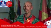 Interview du Chef de l'État de Nova Troie - 2e Sommet des micronations francophones, Vincennes 2018