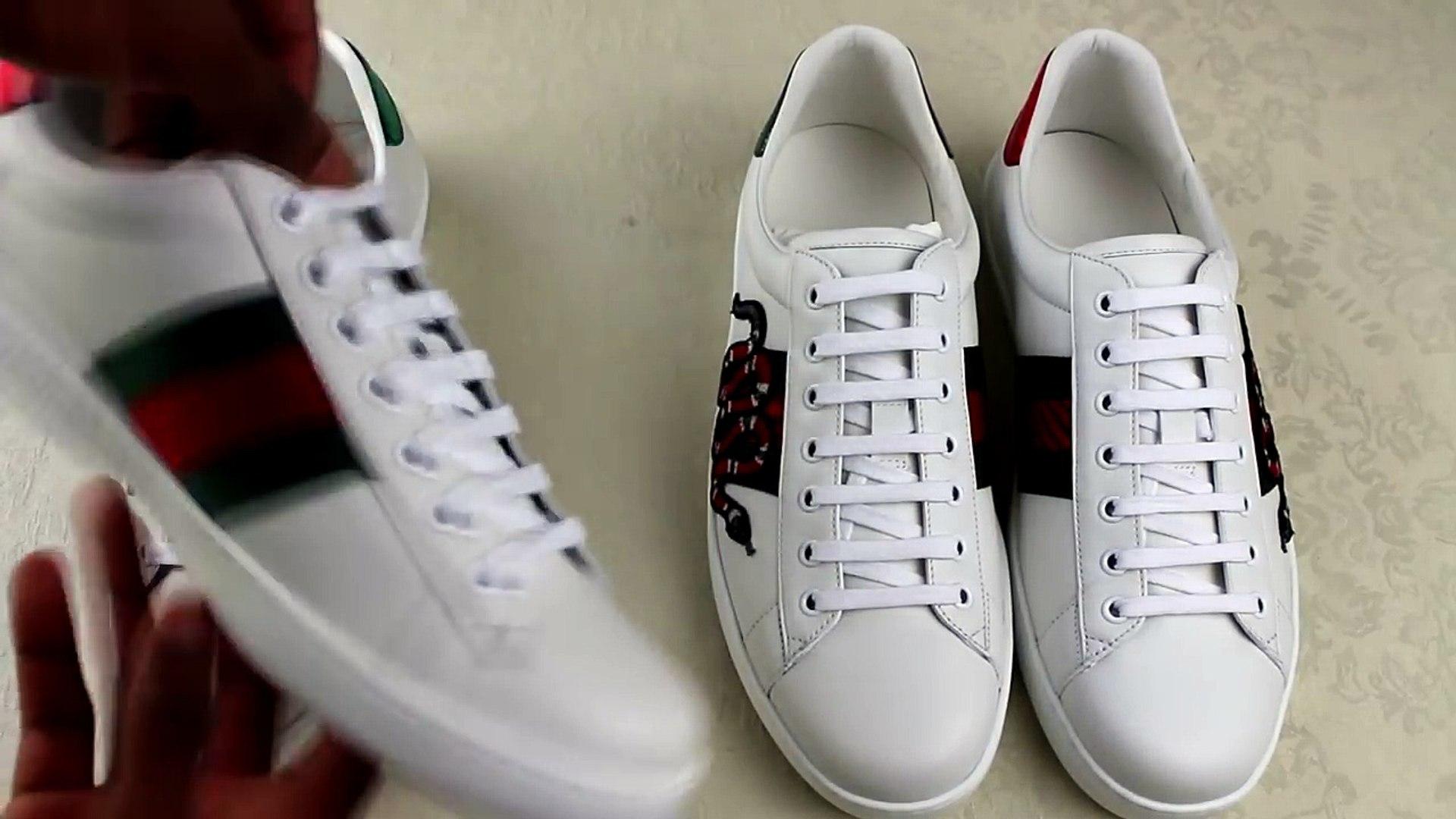 Gucci Ace Sneakers Legit Check   Authentic vs Replica Gucci Review Guide