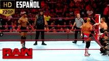 WWE Raw: Roman Reigns & Bobby Lashley vs. The Revival | Español Latino ᴴᴰ