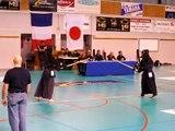 Kendo 1st dan exam - Samir (Coupe des Alpes 2012)