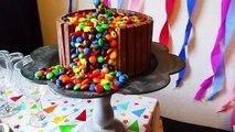 M&M KITKAT ILLUSION CAKE DECORATIE TUTORIAL | Verjaardags Taart