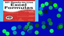 Reading 101 Ready-to-Use Excel Formulas (Mr. Spreadsheet s Bookshelf) For Kindle