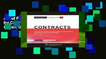 About For Books  Casenote Legal Briefs for Contracts, Keyed to Farnsworth, Sanger, Cohen, Brooks,