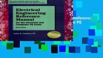 New Releases Electrical Engineering Reference Manual for the Electrical and Computer PE Exam  For