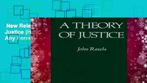 New Releases A Theory of Justice (Harvard paperbacks)  Any Format