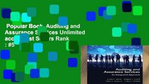 Popular Book  Auditing and Assurance Services Unlimited acces Best Sellers Rank : #5