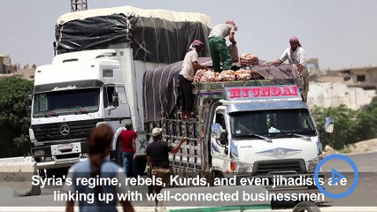 Making a killing: Syrian foes profit from trade over frontlines