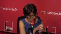 """Annie Genevard (LR) : """"Laurent Wauquiez n'est absolument pas en retrait, nous coordonnons nos positions entre le parti et le groupe LR à l'Assemblée"""""""
