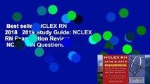 Best seller  NCLEX RN 2018   2019 Study Guide: NCLEX RN Examination Review   NCLEX RN Questions