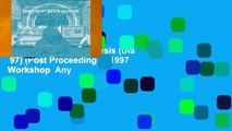 Any Format For Kindle  Document Image Analysis (Dia  97) (Post Proceedings): 1997 Workshop  Any