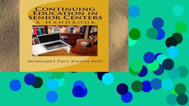 D0wnload Online Continuing Education in Senior Centers: A Handbook Unlimited