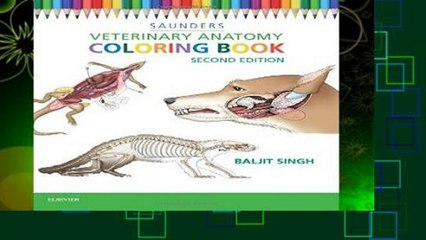 About For Books Veterinary Anatomy Coloring Book Complete ...