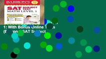 Trial New Releases  SAT Subject Test Math Level 1: With Bonus Online Tests (Barron s SAT Subject