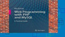 About For Books  Web Programming with PHP and MySQL: A Practical Guide  For Full