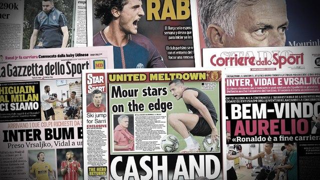 Le Barça lance un ultimatum à Adrien Rabiot, l'AC Milan touche au but pour Gonzalo Higuain