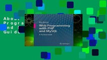 About For Books  Web Programming with PHP and MySQL: A Practical Guide  Review