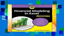 New Releases Financial Modeling in Excel For Dummies (For Dummies (Lifestyle))  For Full