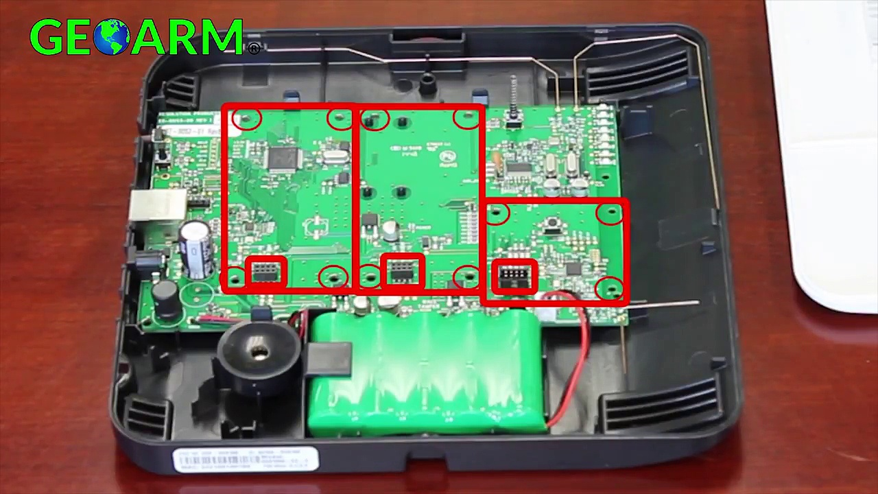 Helix Security System – DIY Installation of Expansion Cards