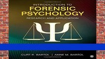 Best ebook  Introduction to Forensic Psychology: Research and Application  Unlimited