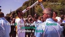 De Olimpia a Rio: Así ha sido el recorrido de la antorcha olímpica