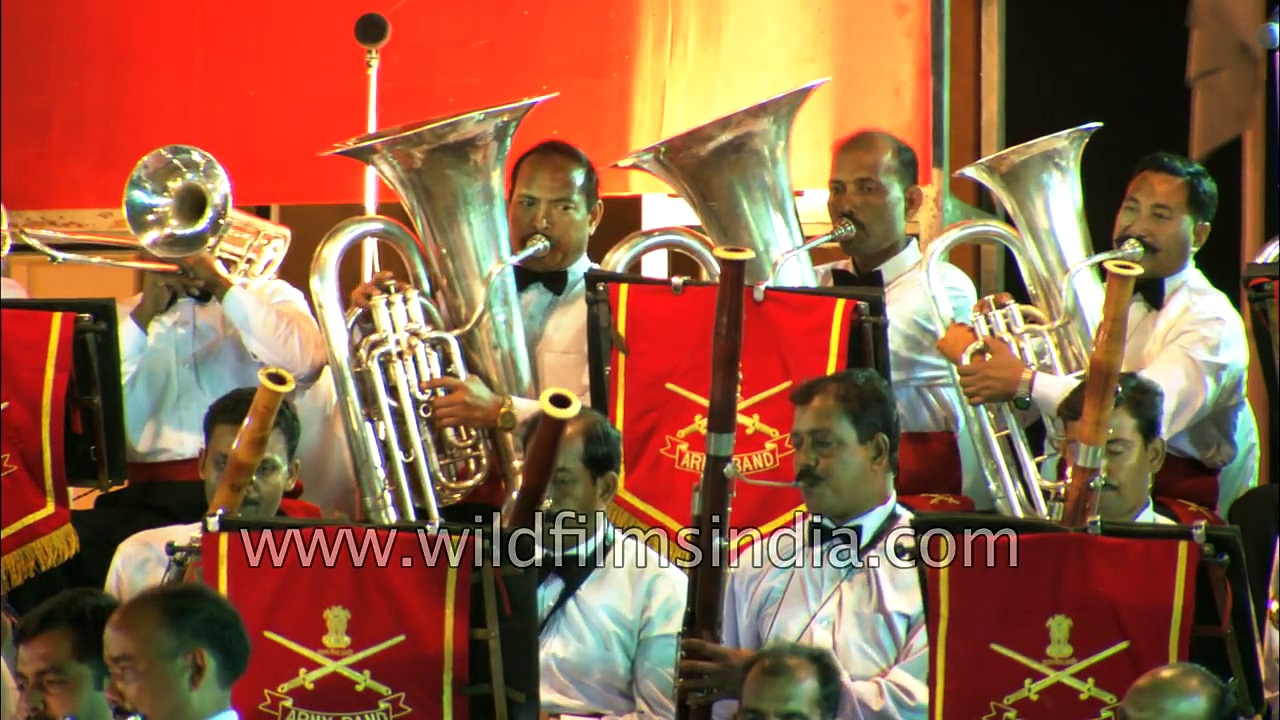 Pride of India- Military bands of the  Navy and Air Force