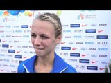 Grit Šadeiko (EST) after the third place at the EC Combined Events, Tallinn 2013