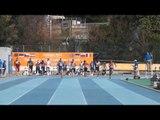 Men 100m heat 2 ECCombined Events Aubagne 2015