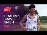 Bravo Ibrahim for finishing the race in Albufeira