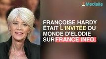 Francoise Hardy n'a pas l'intention de remonter sur scene