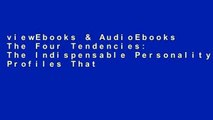 viewEbooks & AudioEbooks The Four Tendencies: The Indispensable Personality Profiles That Reveal