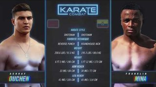 FULL FIGHT Karate Combat: Olympus - Achraf Ouchen vs Franklin Mina