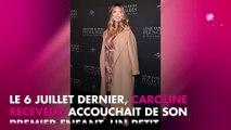 """Caroline Receveur maman sexy : elle se la joue """"Basic Instinct"""" sur Instagram"""