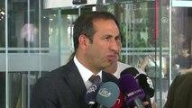 """Kulüpler Birliği Vakfı"""" Toplantısı Sona Erdi - Yeni Malatyaspor Başkanı Adil Gevrek"""