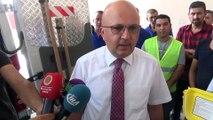 Afyonkarahisar Belediyesinin teknolojik araçları tanıtıldı