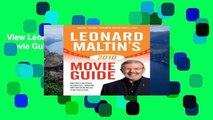 View Leonard Maltin s Movie Guide 2010 Ebook