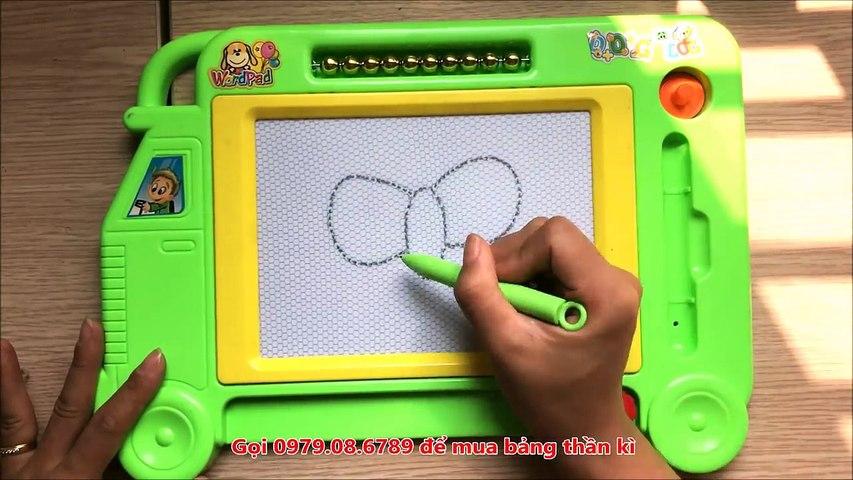 Đồ chơi trẻ em BẢNG THẦN KÌ VIẾT CHỮ VÀ VẼ XÓA ĐƯỢC GIÚP BÉ HỌC TẬP Toys for Kids (Chim Xi