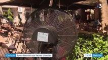 Canicule : plus de 35 °C au thermomètre, les rues de Lyon se vident