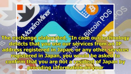Cryptocurrency Exchange Hitbtc Suspends Services in Japan - Bitcoin News